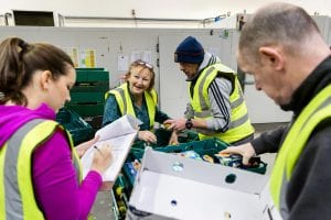 London 2015 volunteers for FareShare and CSR
