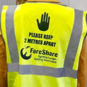 We've introduced an evening shift here at FareShare Greater Manchester to handle pandemic struggles